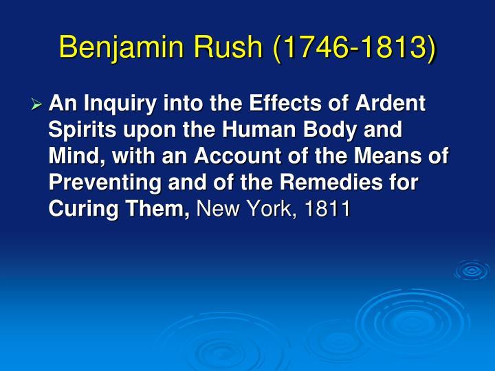 Benjamin Rush (1746-1813)