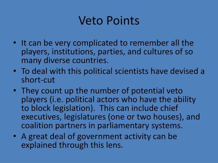 Veto Points