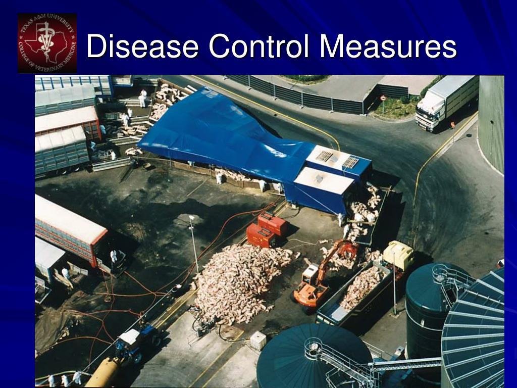 Disease Control Measures