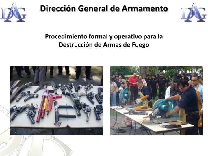 Dirección General de Armamento