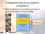 entrepreneurship as an academic competency2