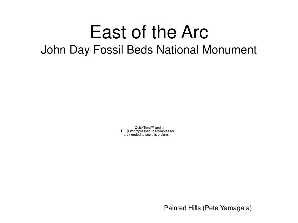 East of the Arc