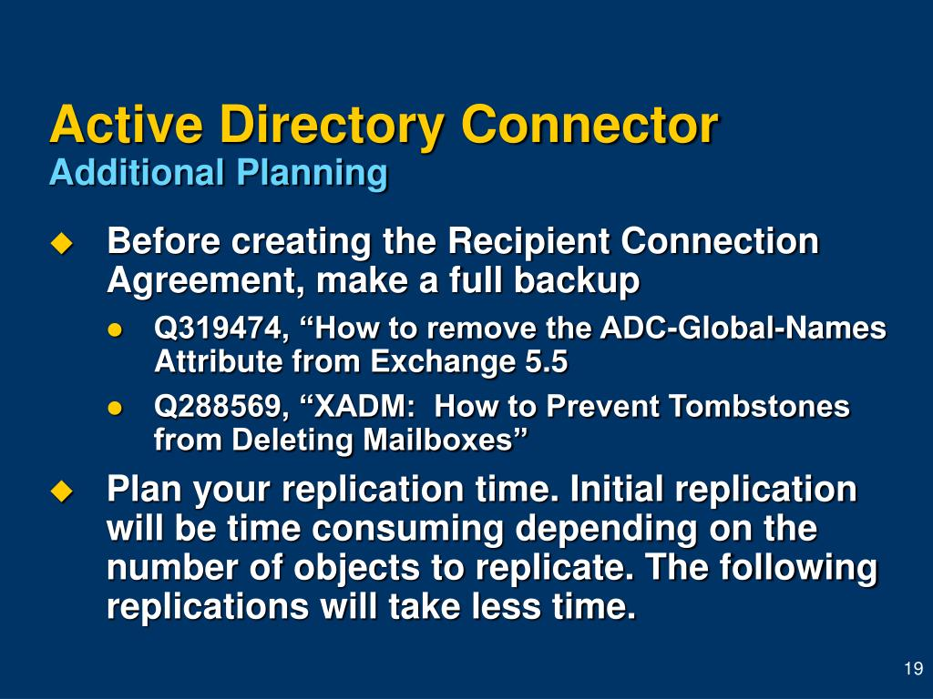 Active Directory Connector