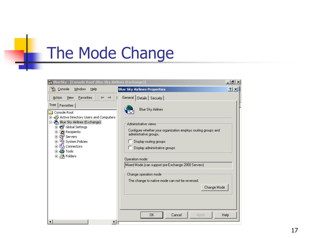 The Mode Change