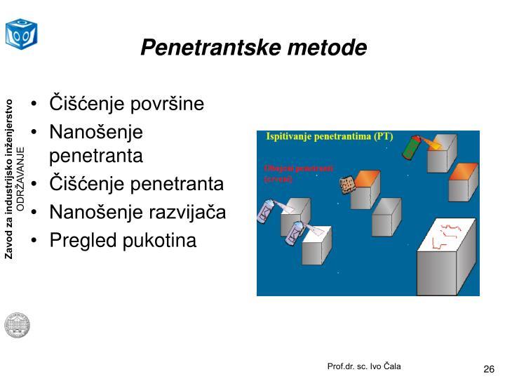Penetrantske metode