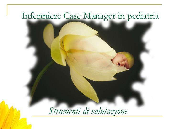 Infermiere Case Manager in pediatria