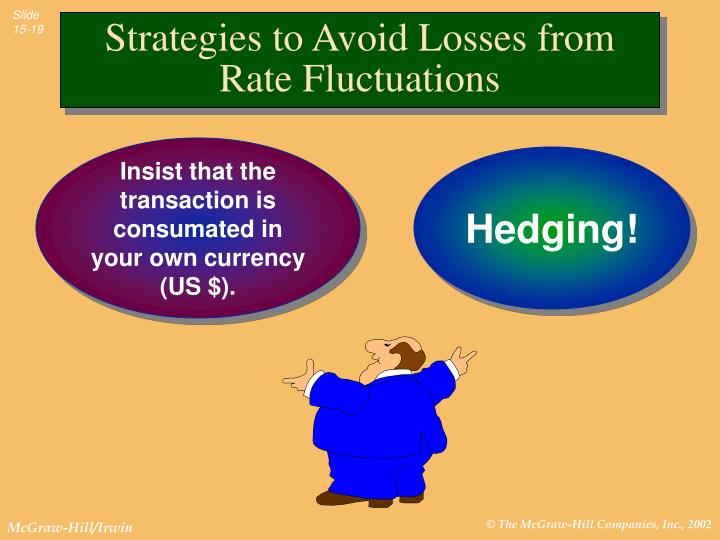 Strategies to Avoid Losses from Rate Fluctuations