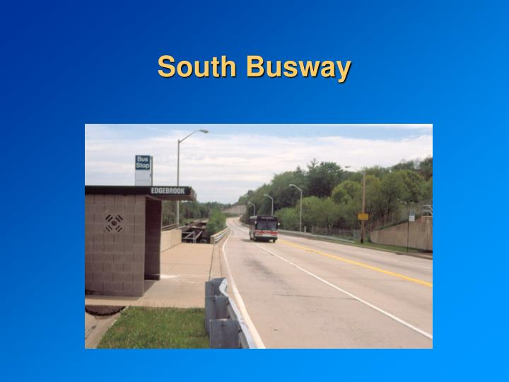 South Busway