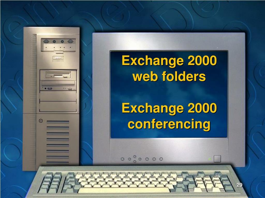 Exchange 2000 web folders