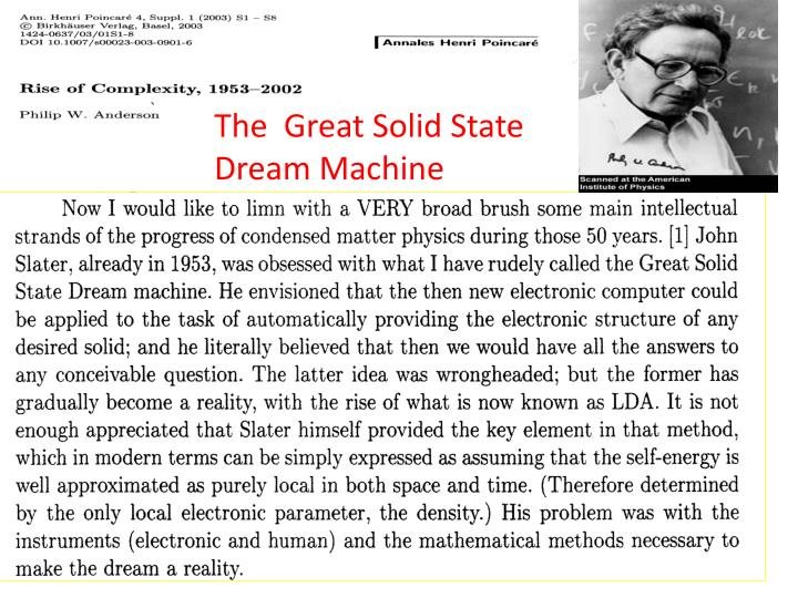 The  Great Solid State Dream Machine