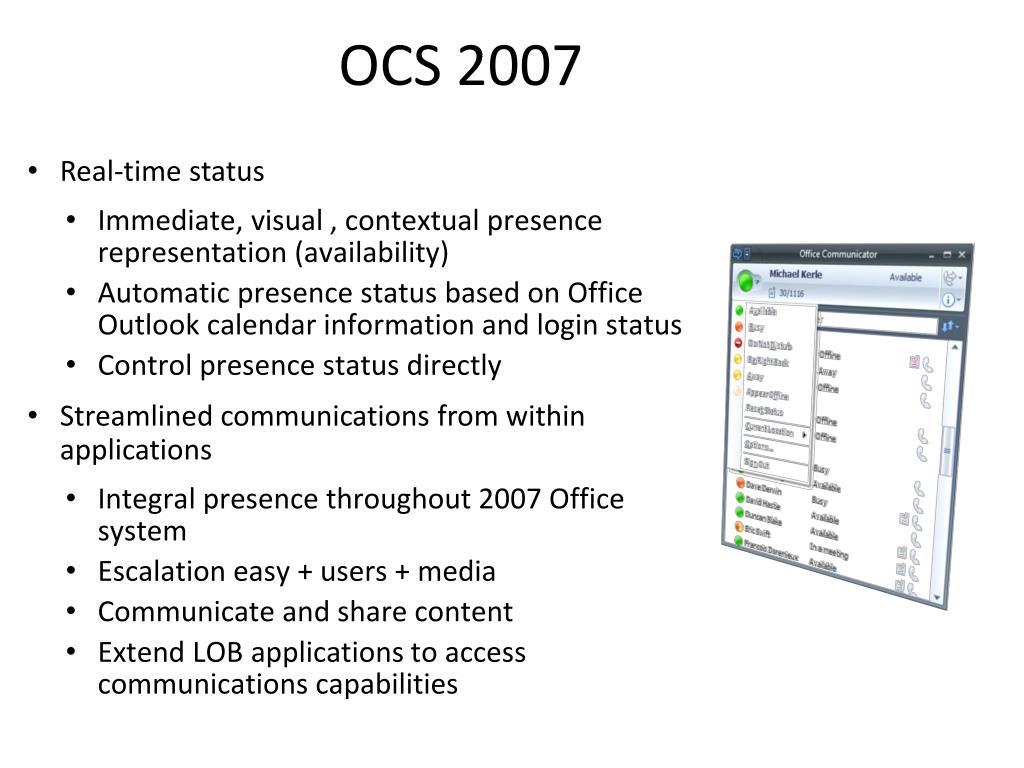 OCS 2007