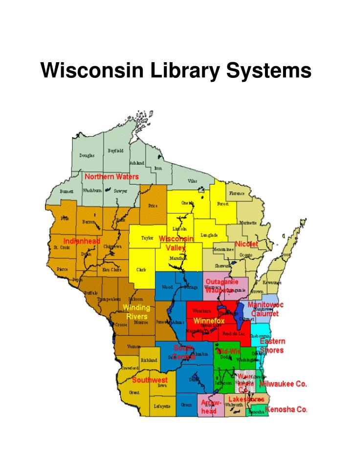 Wisconsin library systems