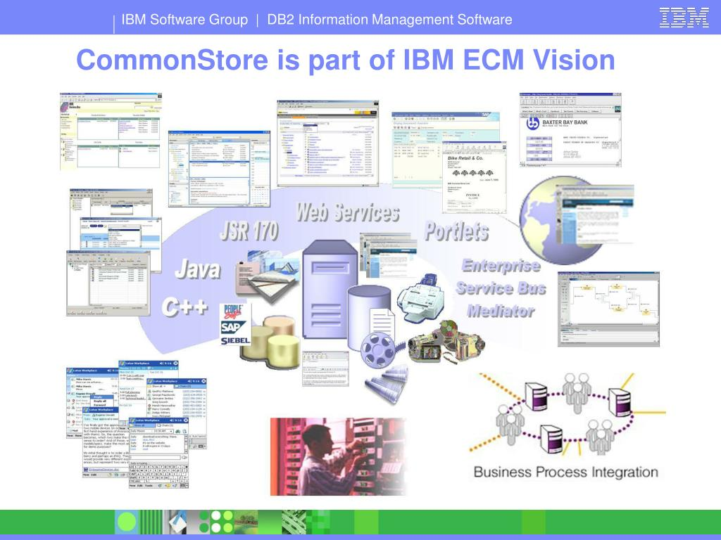 CommonStore is part of IBM ECM Vision