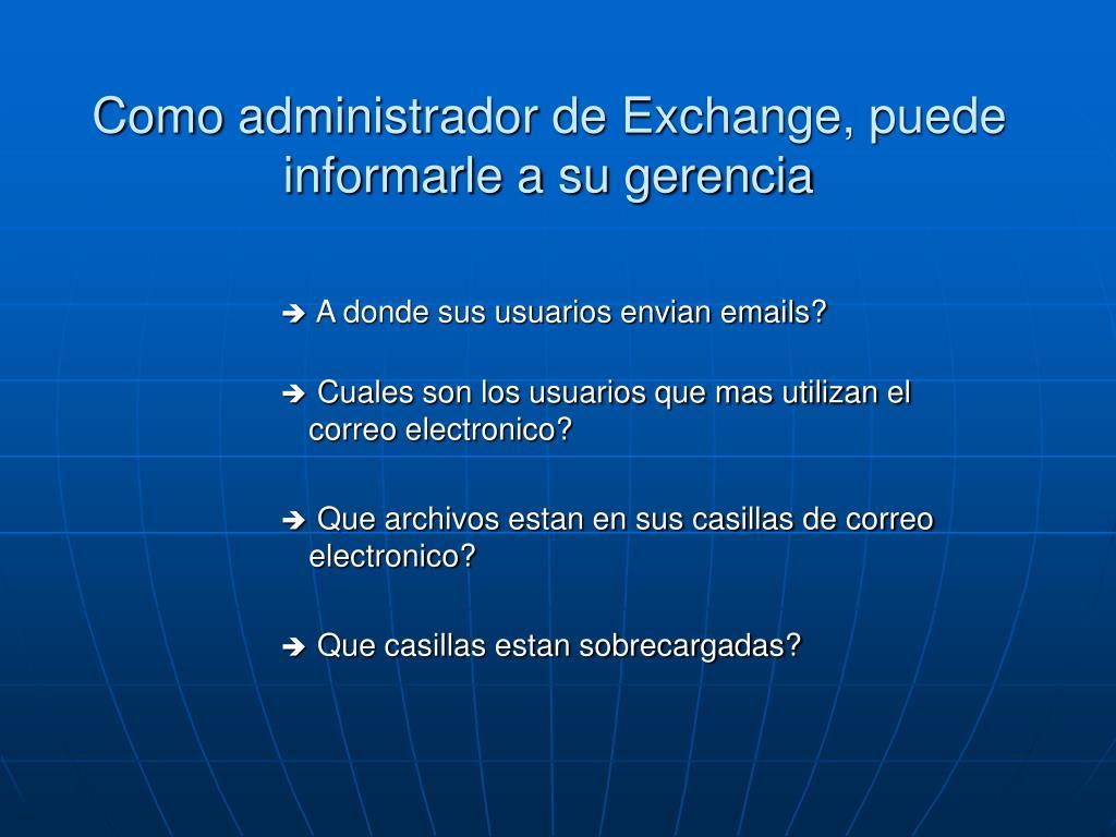 A donde sus usuarios envian emails?