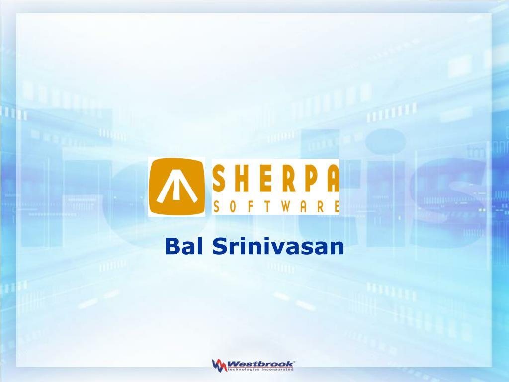 Bal Srinivasan