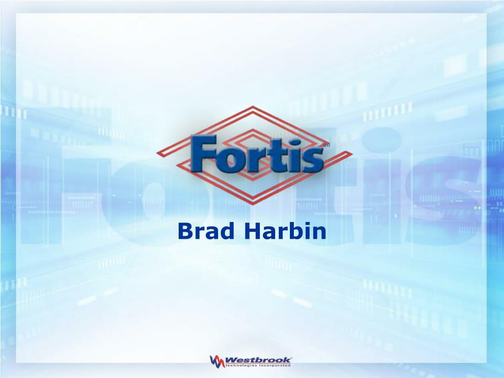 Brad Harbin