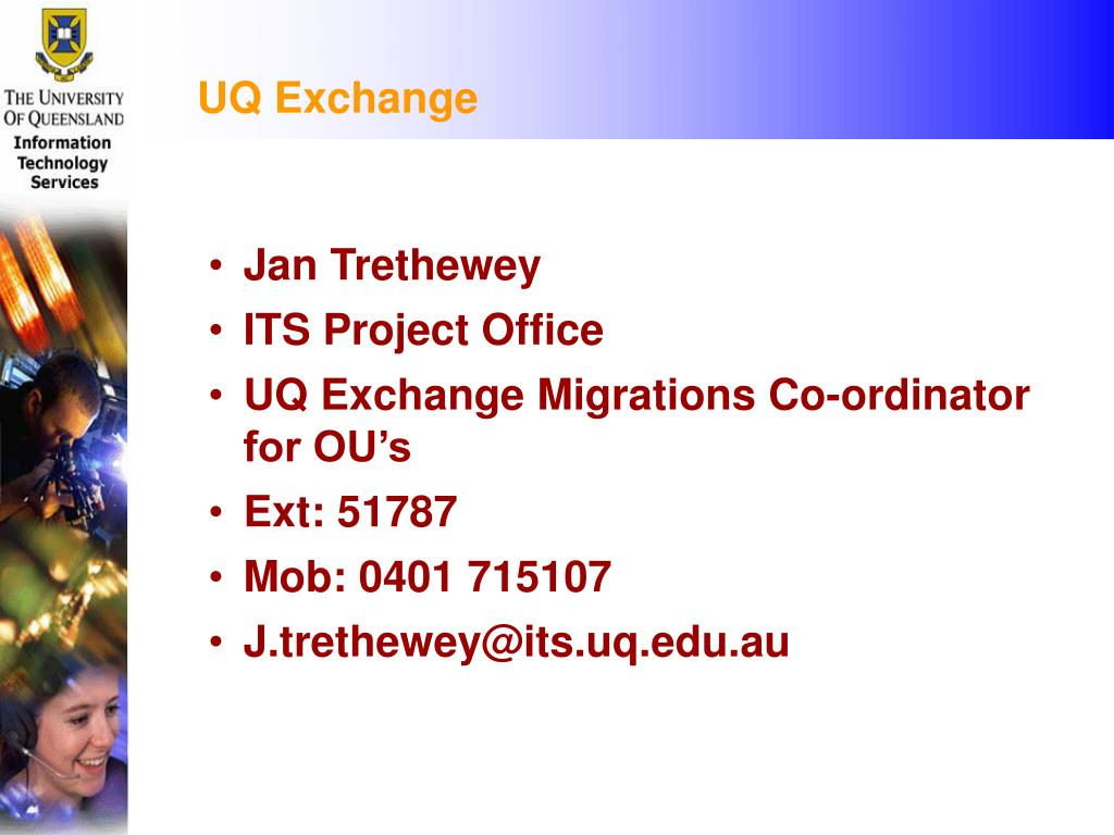 UQ Exchange