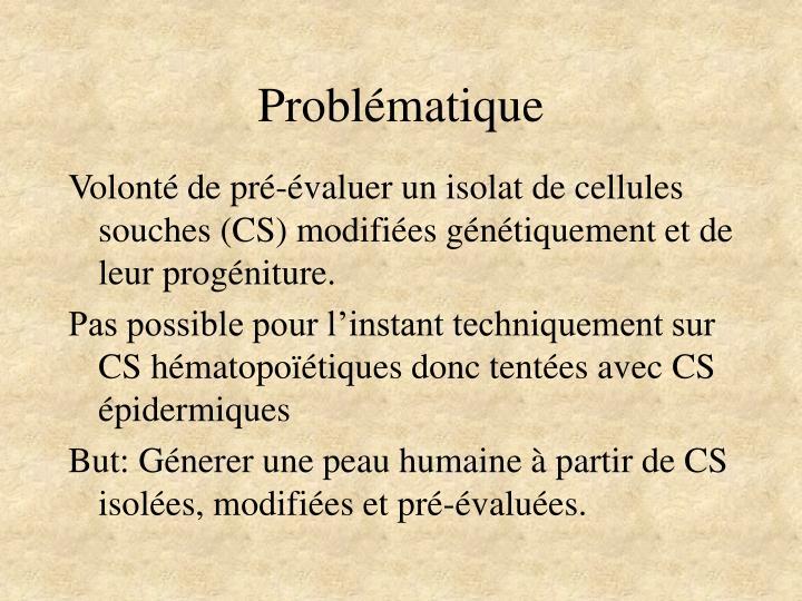 Problématique