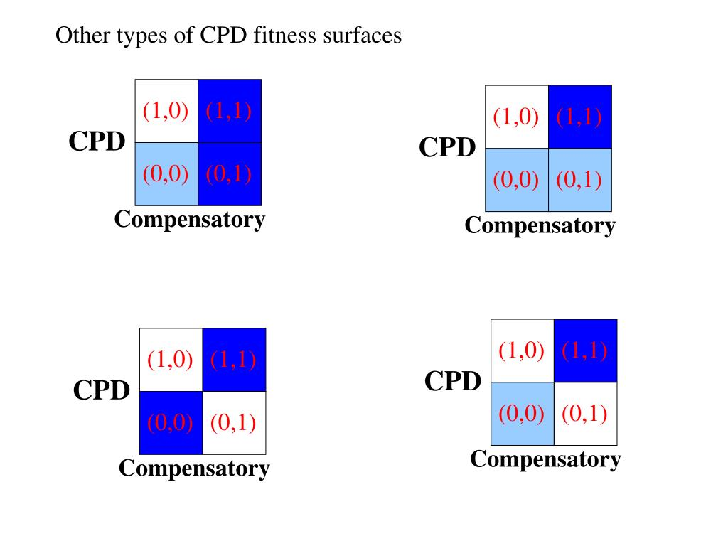 Other types of CPD fitness surfaces