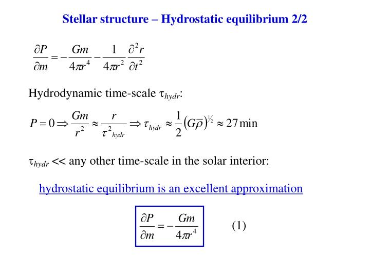 Hydrodynamic time-scale