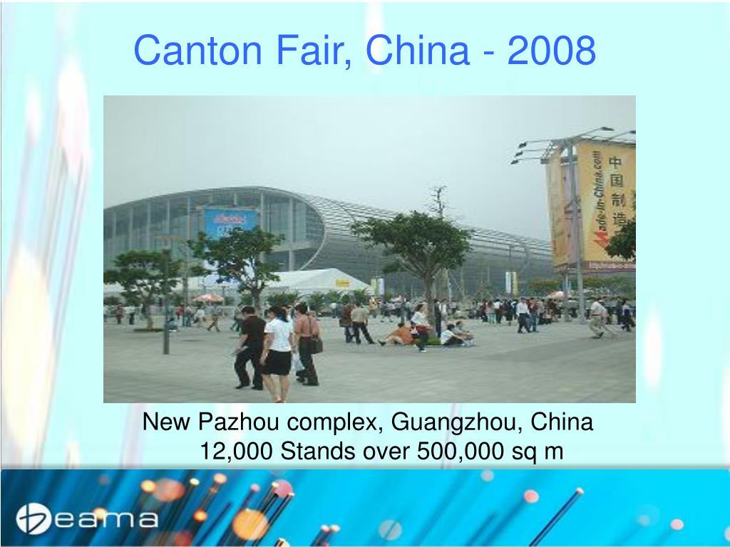 Canton Fair, China - 2008