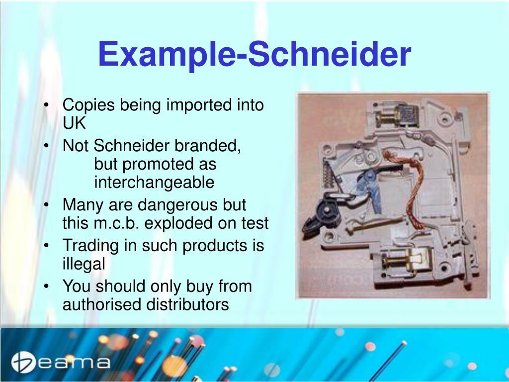 Example-Schneider