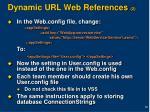 dynamic url web references 2