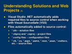 understanding solutions and web projects 3