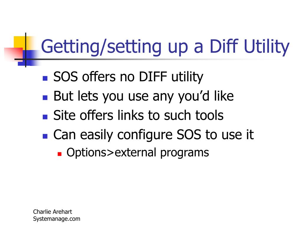 Getting/setting up a Diff Utility