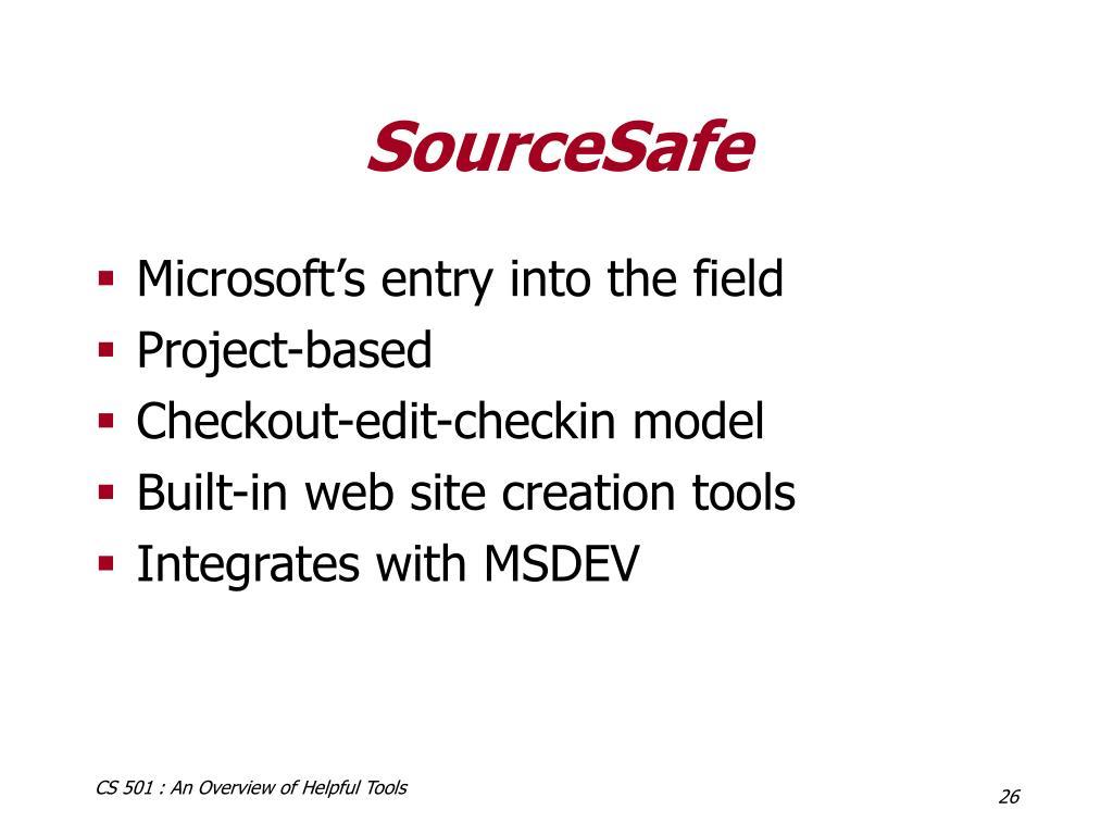 SourceSafe