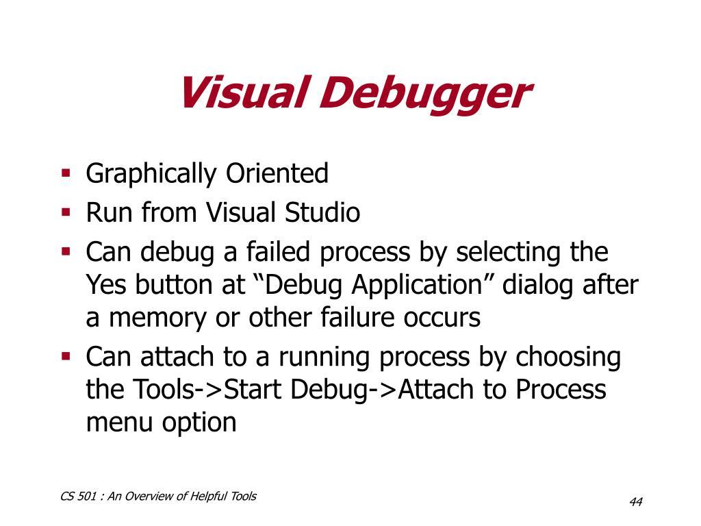 Visual Debugger