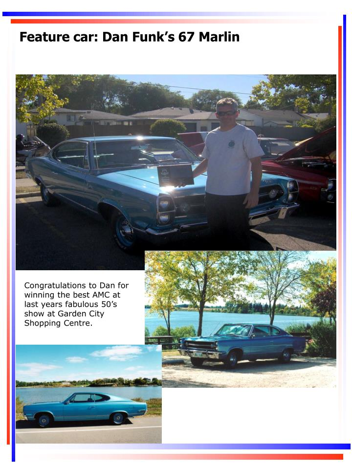 Feature car: Dan Funk's 67 Marlin