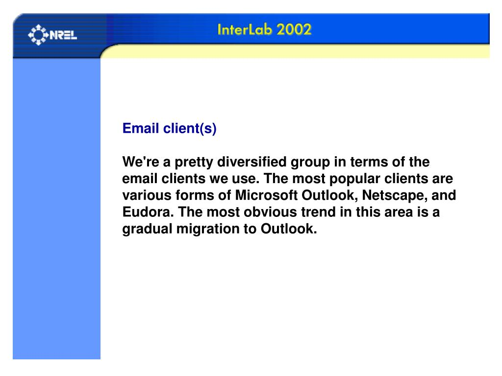 Email client(s)