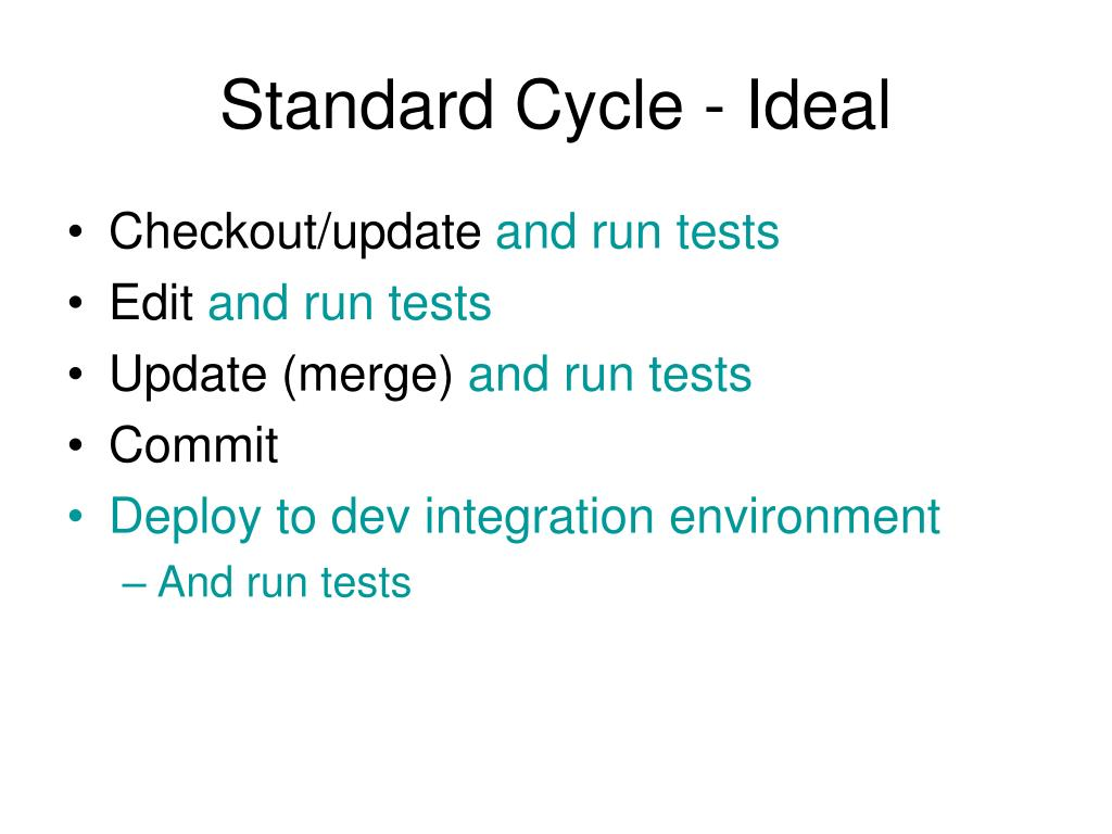Standard Cycle - Ideal