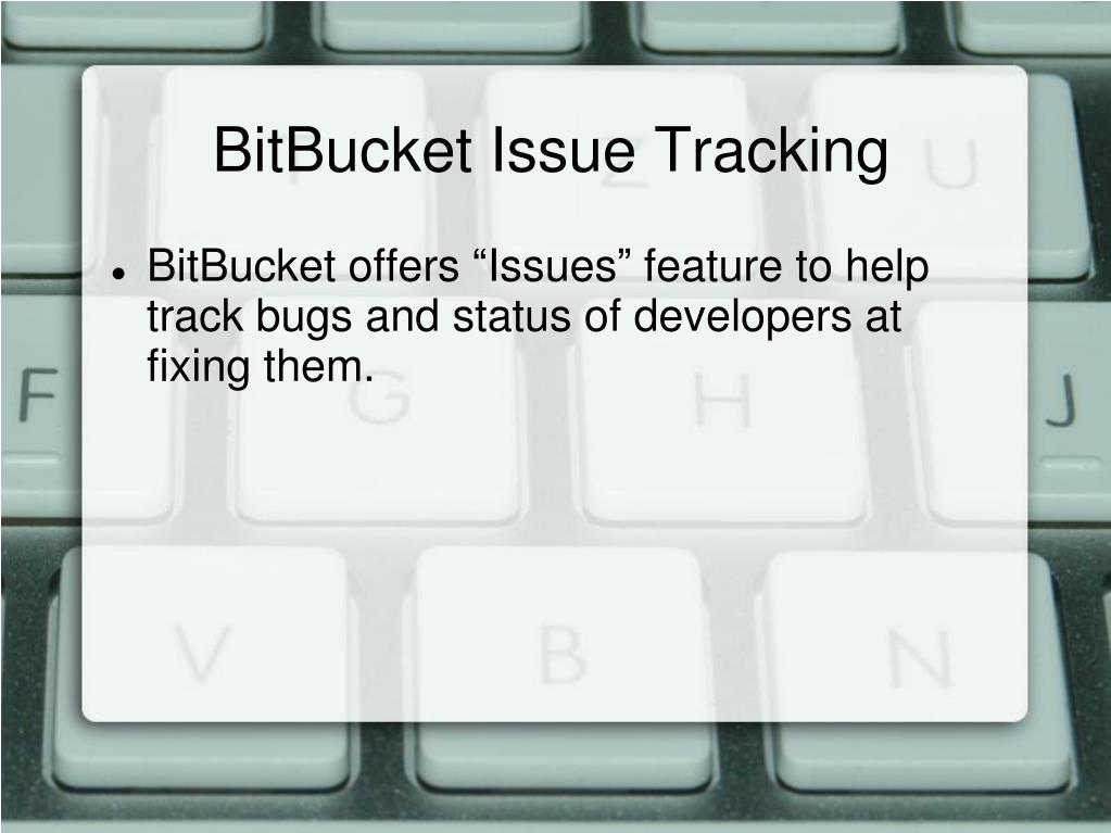 BitBucket Issue Tracking