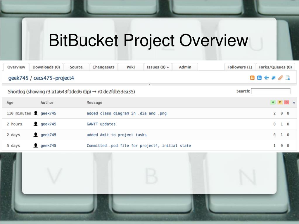 BitBucket Project Overview