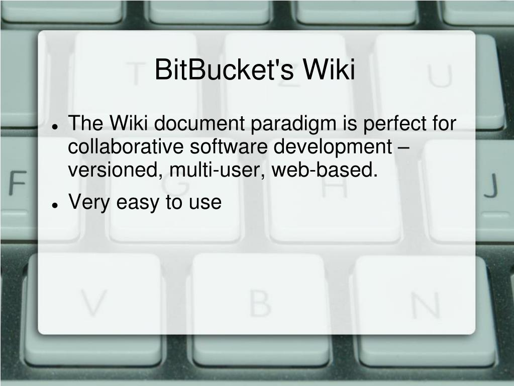 BitBucket's Wiki