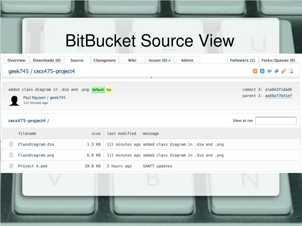 BitBucket Source View