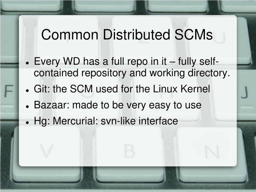Common Distributed SCMs