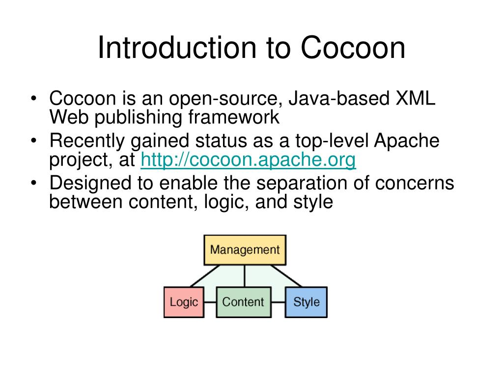 Introduction to Cocoon