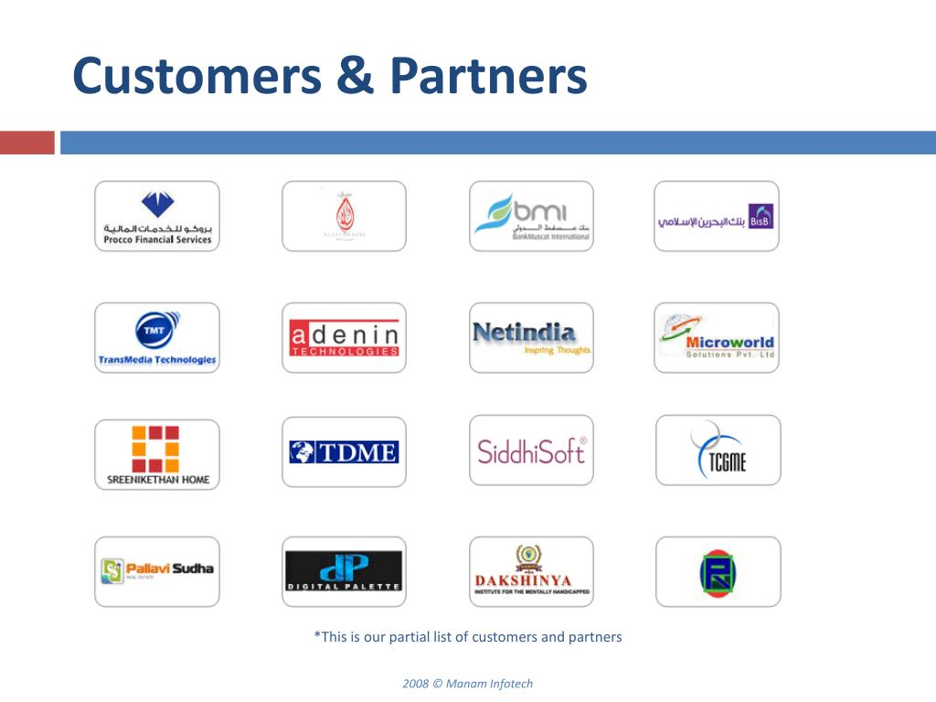 Customers & Partners