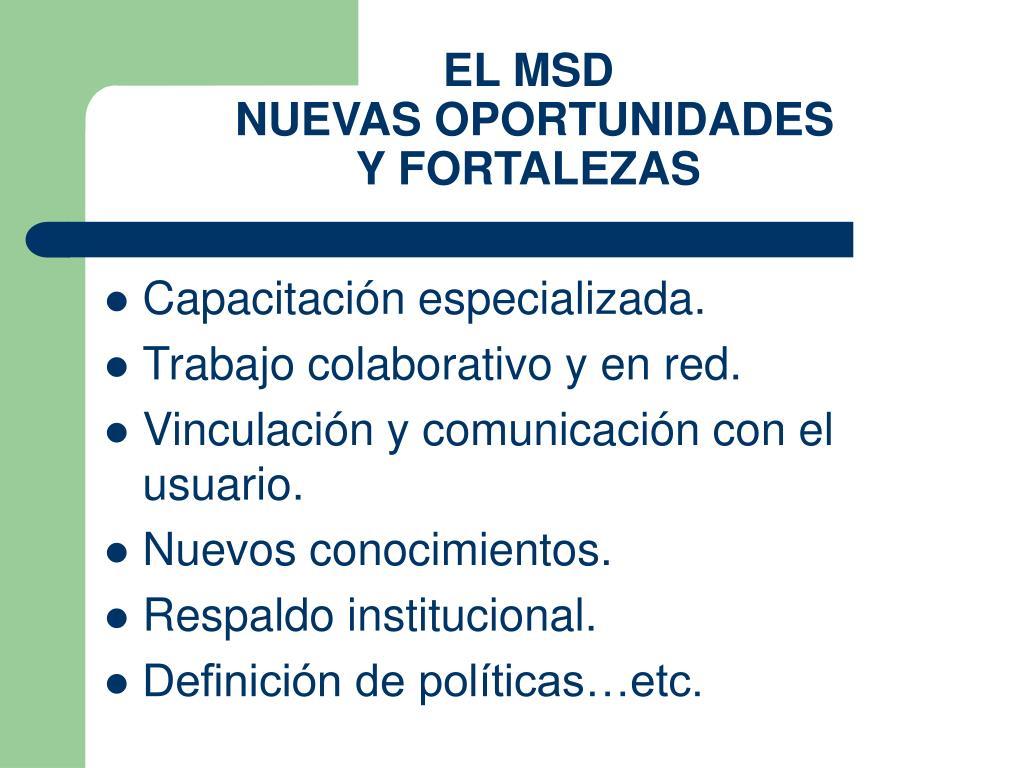 EL MSD