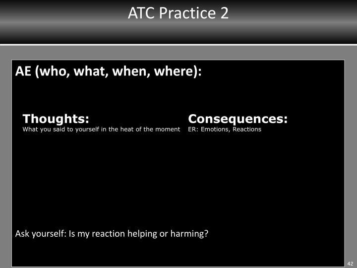 ATC Practice 2