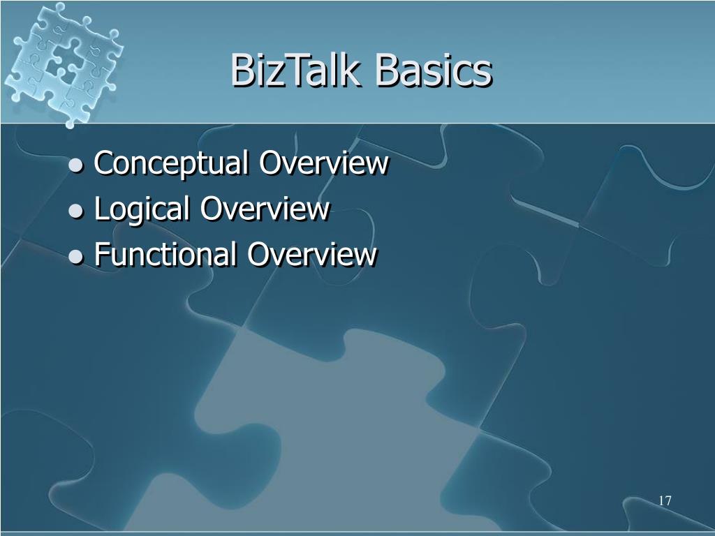 BizTalk Basics
