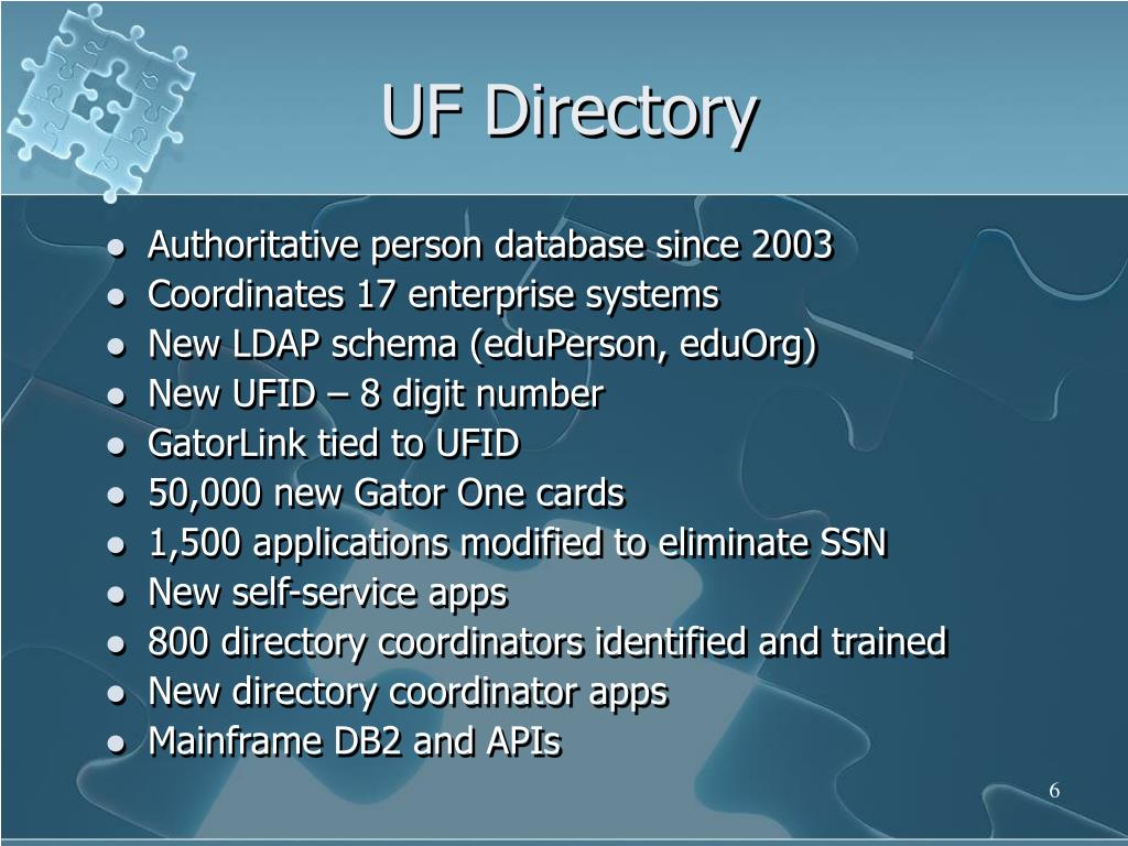 UF Directory