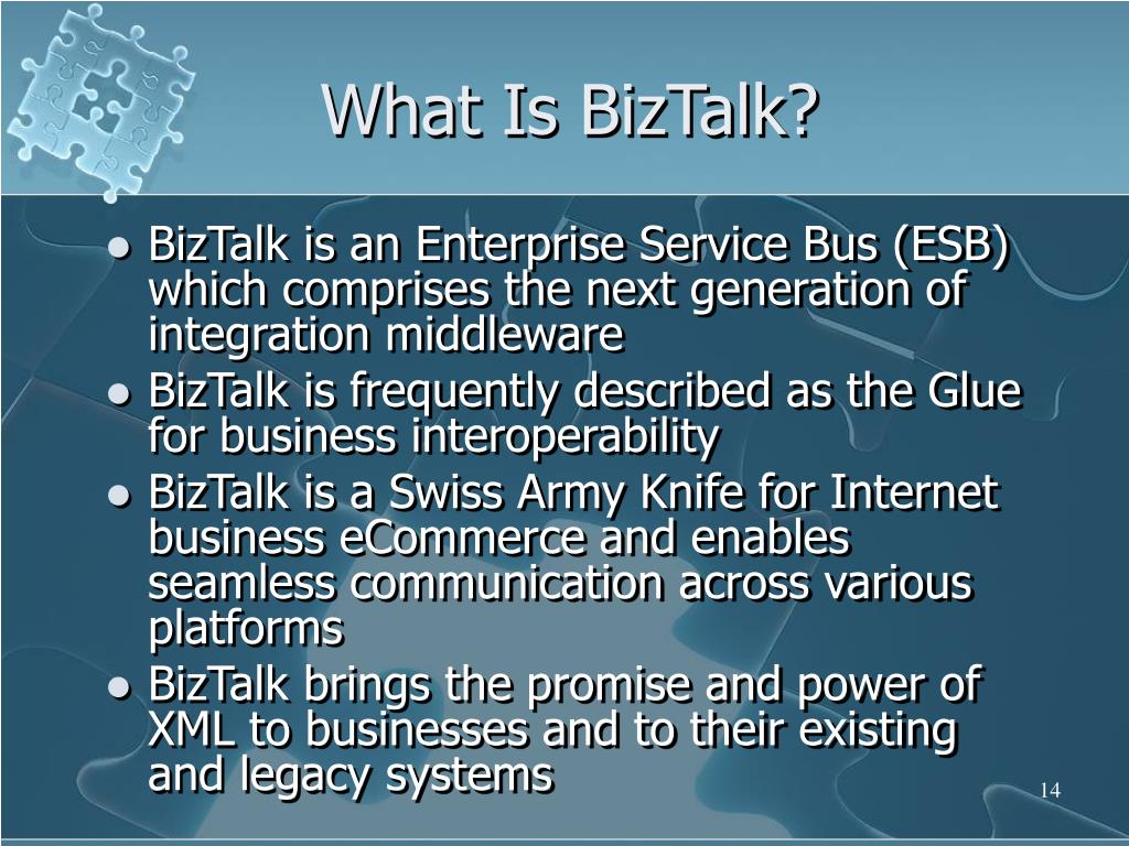 What Is BizTalk?
