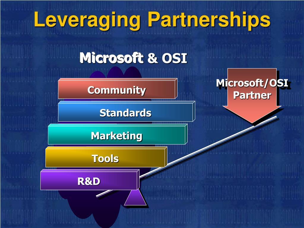 Leveraging Partnerships