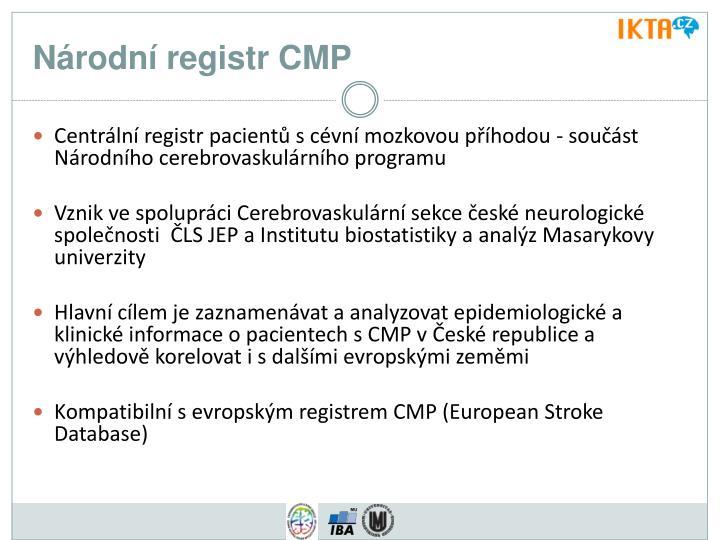 Národní registr CMP