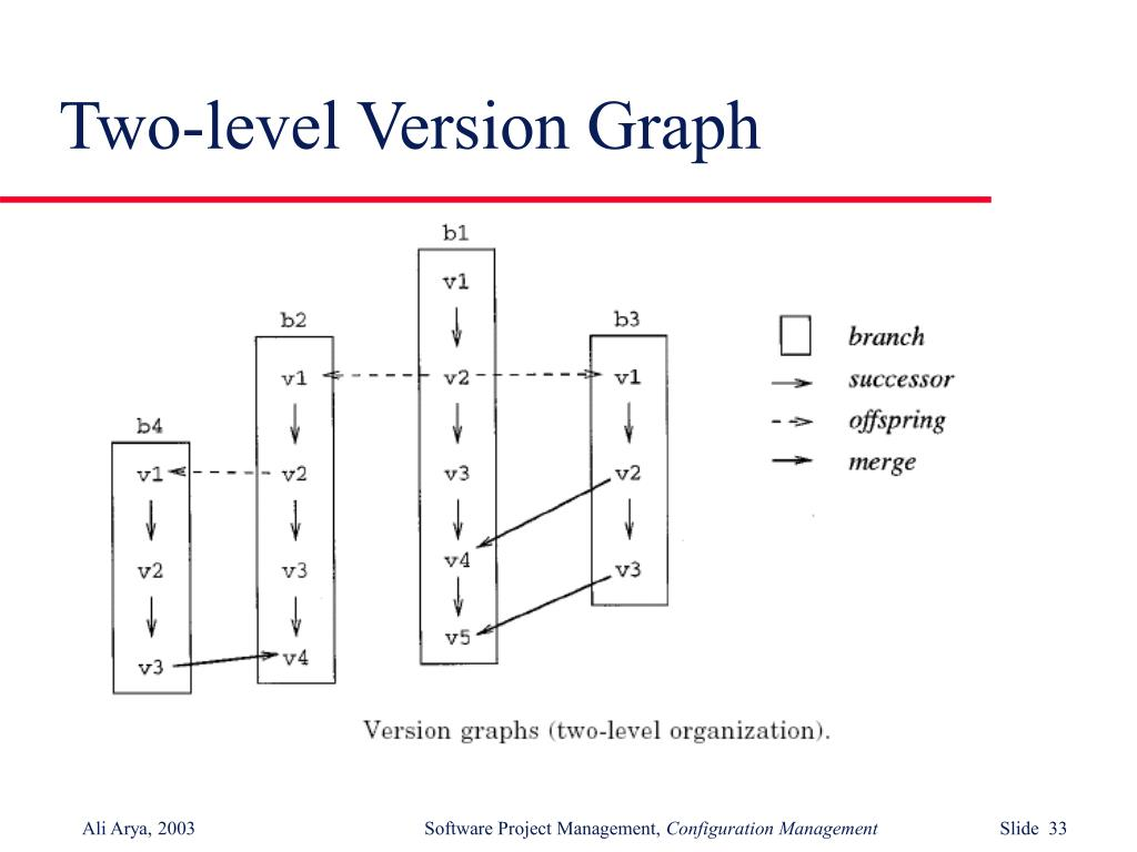 Two-level Version Graph