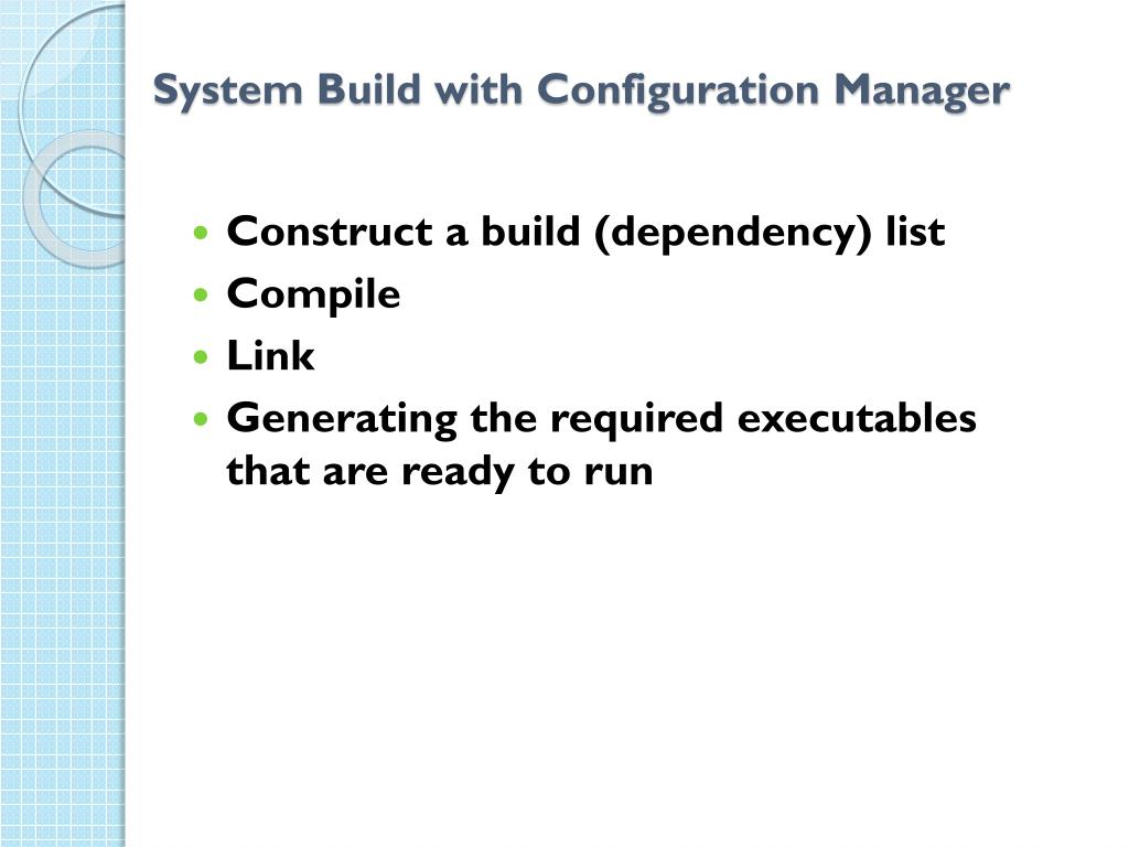 System Build with Configuration Manager